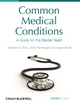 Common Medical Conditions: A Guide for the Dental Team (1405185937) cover image