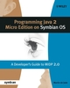 Programming Java 2 Micro Edition for Symbian OS: A developer's guide to MIDP 2.0 (0470092238) cover image