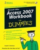 Access 2007 Workbook For Dummies (0470179538) cover image