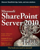 Microsoft SharePoint Server 2010 Bible (0470643838) cover image