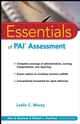 Essentials of PAI Assessment (0471084638) cover image