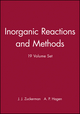 Inorganic Reactions and Methods, 19 Volume Set (0471186538) cover image