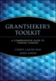Grantseeker's Toolkit: A Comprehensive Guide to Finding Funding (0471193038) cover image