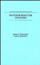Nuclear Reactor Analysis (0471223638) cover image