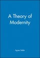 A Theory of Modernity (0631216138) cover image