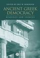 Ancient Greek Democracy: Readings and Sources (0631233938) cover image