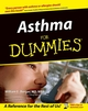 Asthma For Dummies (0764542338) cover image