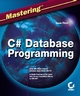 MasteringC#Database Programming (0782141838) cover image