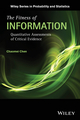 The Fitness of Information: Quantitative Assessments of Critical Evidence (1118128338) cover image
