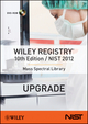 Wiley Registry 10th Edition / NIST 2012 Mass Spectral Library (Upgrade)  (1118616138) cover image