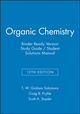 Organic Chemistry, 12e Binder Ready Version Study Guide / Student Solutions Manual (1119077338) cover image