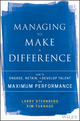 Managing to Make a Difference: How to Engage, Retain, and Develop Talent for Maximum Performance (1119331838) cover image