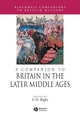 A Companion to Britain in the Later Middle Ages (1405189738) cover image
