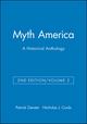 Myth America: A Historical Anthology, Volume 2, 2nd Edition (1933385138) cover image