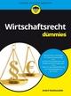 Wirtschaftsrecht für Dummies (3527691138) cover image