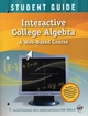 Interactive College Algebra: A Web-Based Course, Student Guide (0470459239) cover image
