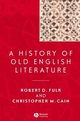 A History of Old English Literature (0470692839) cover image