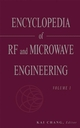Encyclopedia of RF and Microwave Engineering, 6 Volume Set (0471270539) cover image