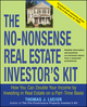 The No-Nonsense Real Estate Investor's Kit: How You Can Double Your Income By Investing in Real Estate on a Part-Time Basis (0471756539) cover image