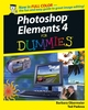 Photoshop® Elements 4 For Dummies® (0471774839) cover image
