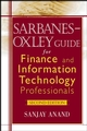 Sarbanes-Oxley Guide for Finance and Information Technology Professionals, 2nd Edition (0471785539) cover image