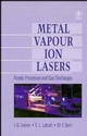 Metal Vapour Ion Lasers: Kinetic Processes and Gas Discharges (0471955639) cover image