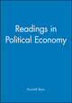 Readings in Political Economy (0631223339) cover image