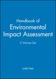 Handbook of Environmental Impact Assessment, 2 Volume Set (0632047739) cover image