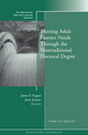 Meeting Adult Learner Needs through the Nontraditional Doctoral Degree: New Directions for Adult and Continuing Education, Number 129 (1118027639) cover image