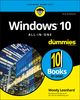 Windows 10 All-In-One For Dummies, 3rd Edition (1119484839) cover image