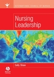 International Council of Nurses: Nursing Leadership (1405135239) cover image