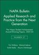 Applied Research and Practice from the Next Generation: The NAPA Student Achievement Award-Winning Papers, 2001 - 05 (1931303339) cover image