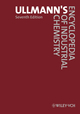 Ullmann's Encyclopedia of Industrial Chemistry, 40 Volume Set, 7th Edition (3527329439) cover image