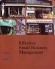 Effective Small Business Management, 7th Edition (047000343X) cover image