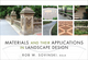 Materials and Their Applications in Landscape Design (047011293X) cover image