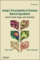 Leung's Encyclopedia of Common Natural Ingredients: Used in Food, Drugs and Cosmetics, 3rd Edition (047146743X) cover image