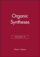 Organic Syntheses, Volume 70 (047157743X) cover image