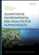 Quantitative Environmental Risk Analysis for Human Health (047172243X) cover image