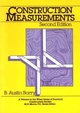 Construction Measurements, 2nd Edition (047183663X) cover image