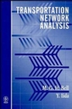 Transportation Network Analysis (047196493X) cover image