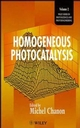 Homogeneous Photocatalysis (047196753X) cover image
