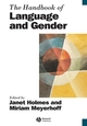 The Handbook of Language and Gender (063122503X) cover image