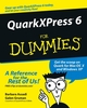 QuarkXPress6 For Dummies (076452593X) cover image