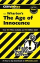 CliffsNotes on Wharton's The Age of Innocence (076453713X) cover image