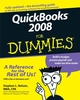 QuickBooks 2008 For Dummies (111805203X) cover image