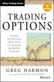 Trading Options: Using Technical Analysis to Design Winning Trades, + Website (111867913X) cover image