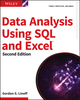 Data Analysis Using SQL and Excel, 2nd Edition (111902143X) cover image