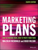 Marketing Plans: How to prepare them, how to profit from them, 8th Edition (111921713X) cover image