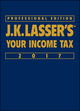 J.K. Lasser's Your Income Tax 2017, Professional Edition (111924823X) cover image