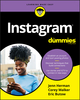 Instagram For Dummies (111959393X) cover image